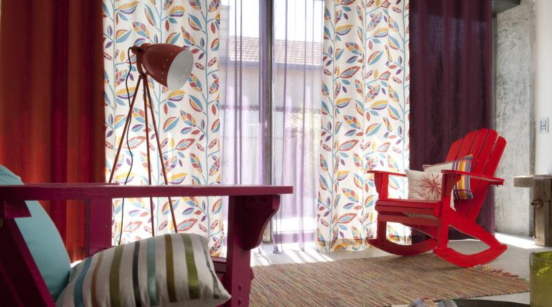 décoration appartement rideaux