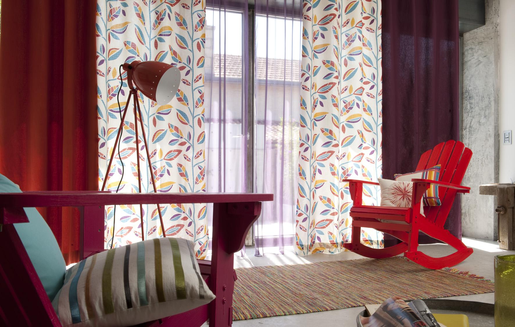 des id es pour relooker vos fen tres la d coration ma passion. Black Bedroom Furniture Sets. Home Design Ideas